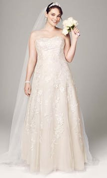 David's Bridal Hall of Fame 2015 9V3587 #36