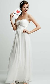 David's Bridal Hall of Fame 2015 db Studio DB3891 #5