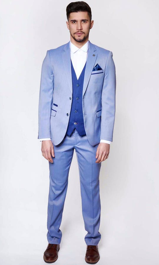 Marc Darcy Wedding Suits Howard - Light Blue
