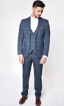 Marc Darcy Wedding Suits Scott - Blue #5