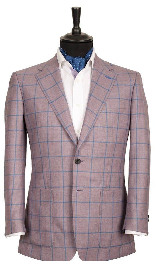 King & Allen Bespoke Suits Bright Suit