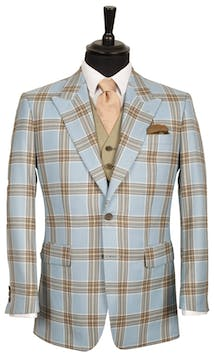 King & Allen Bespoke Suits Flamboyant Check Suit #19