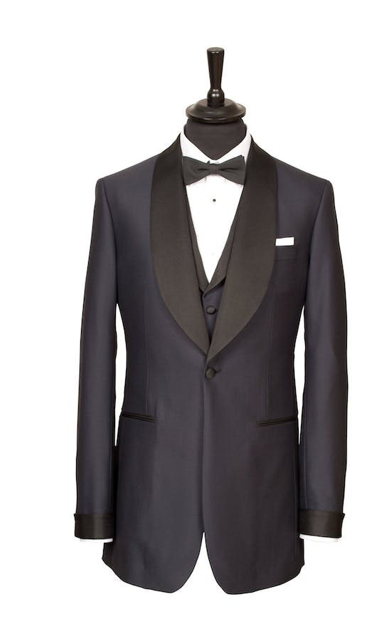King & Allen Bespoke Suits Dinner Suit
