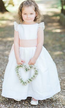Little Eglantine Flower Girls 2017 Adele White #3