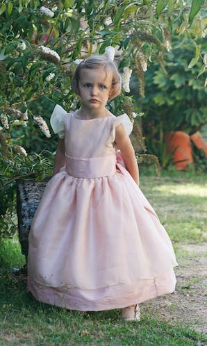 Little Eglantine Flower Girls 2017 Adele Pink
