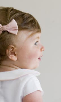 Little Eglantine Baby Flower Girls Hair Bow #4