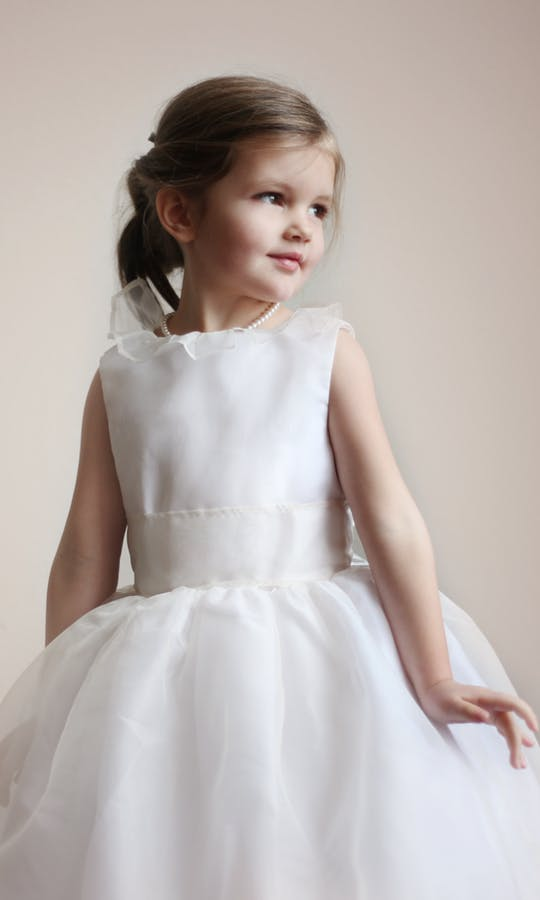 beb0270e2e4c Chloe flower girl dress - Little Eglantine  Flower Girls 2017 ...