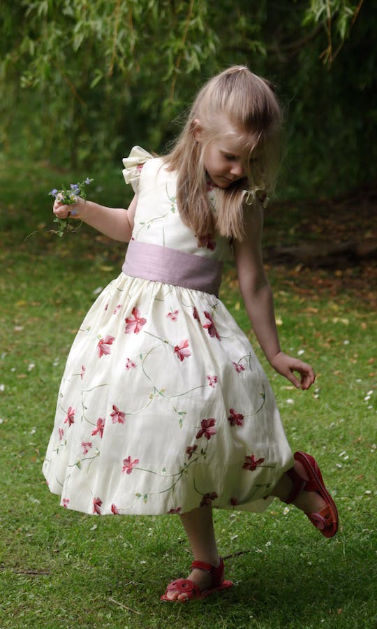 Little Eglantine Flower Girls 2017 Isobel Embroidered