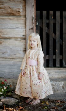 Little Eglantine Flower Girls 2017 Flower Girl Jacket #19
