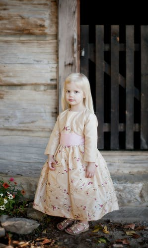 Little Eglantine Flower Girls 2017 Flower Girl Jacket