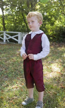 Little Eglantine Page Boys 2017 Traditional Page Boy Waistcoat #3