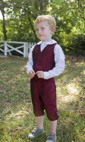 Little Eglantine Page Boys 2017 Traditional Page Boy Waistcoat
