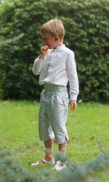 Little Eglantine Page Boys 2017 Page Boy Cummerbund #2