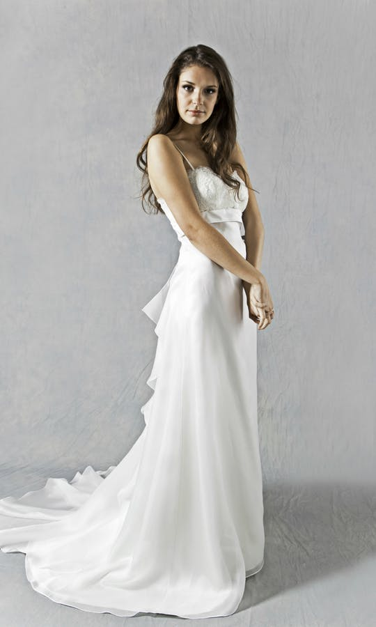 Lucy Martin Bridal The Collection Bustle Wedding Dress