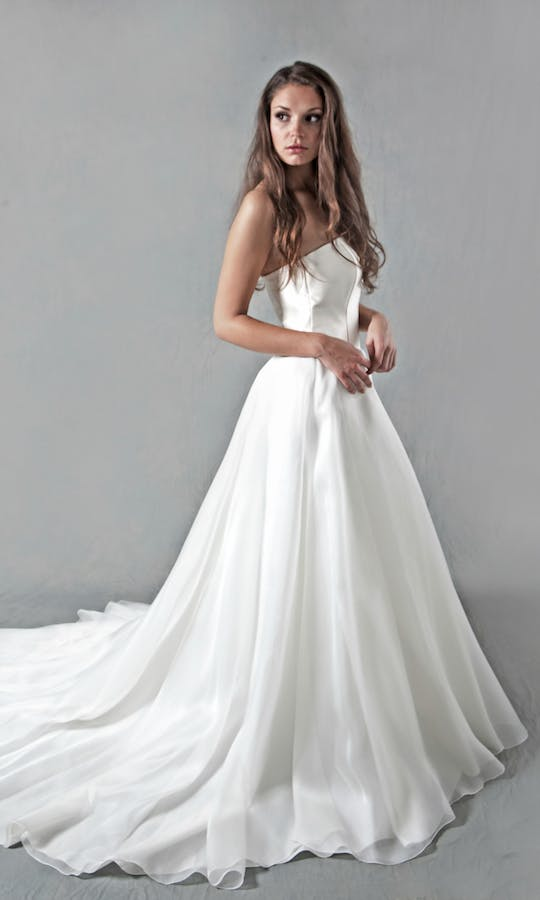 Lucy Martin Bridal The Collection Full Skirt Wedding Dress
