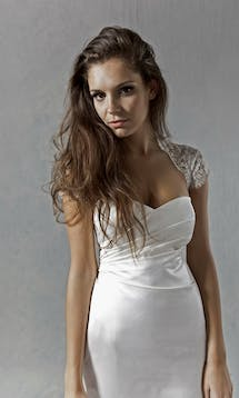 Lucy Martin Bridal The Collection Corseted Wedding Dress #6