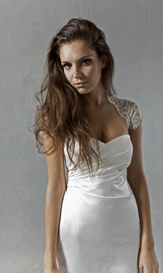 Lucy Martin Bridal The Collection Corseted Wedding Dress
