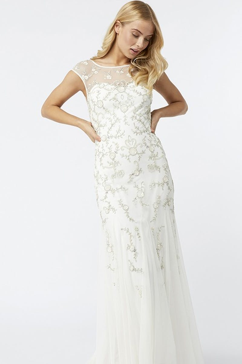 Anistasia Embellished Bridal Maxi Dress Wedding Dress