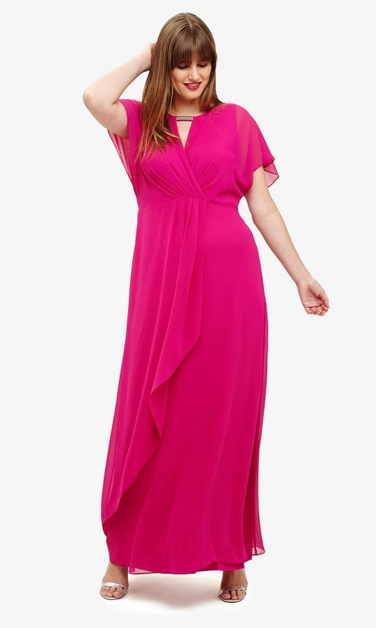 Destiny: Magenta Bridesmaid Dress bridesmaid