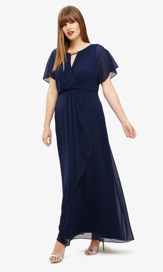 Destiny: Navy Bridesmaid Dress