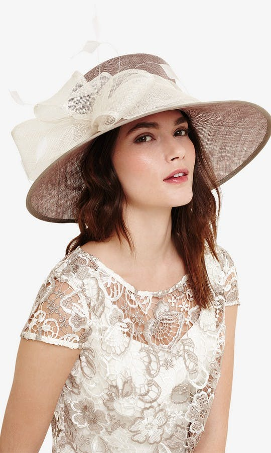 Phase Eight Mother Of The Bride Or Groom SS18 Keke Bow Trim Hat
