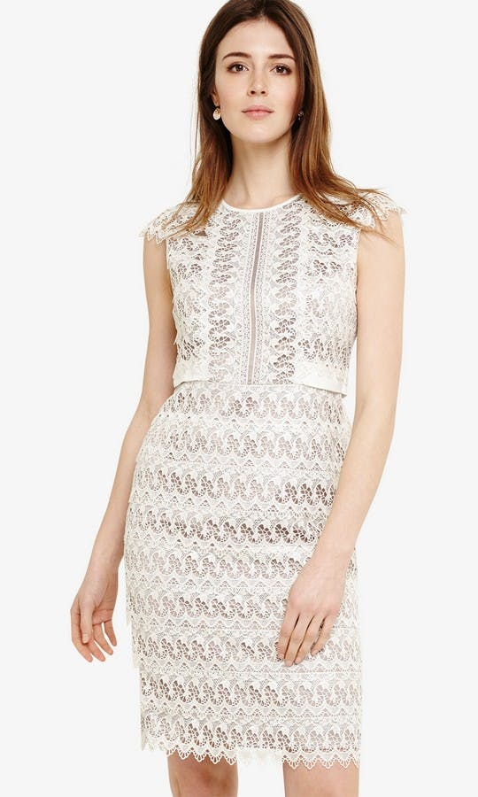 Ally Lace Layered Dress Wedding Guest Outfit Phase Eight Ss18