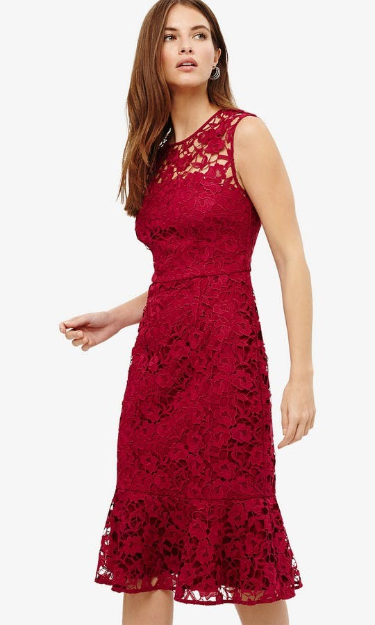 d839e4ac7cd Sabby  Magenta Lace Dress wedding guest outfit - Phase Eight  SS18 ...