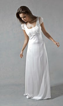 Lucy Martin Bridal The Collection Cap Sleeve Wedding Dress #7
