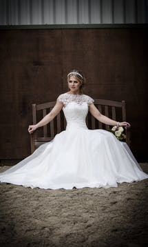 Qiana Bridal Regal Splendour Margaret Rose #1