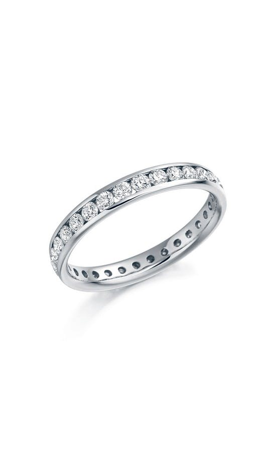 ROX Eternity Rings Platinum Brilliant Diamond Eternity Ring 1.04ct