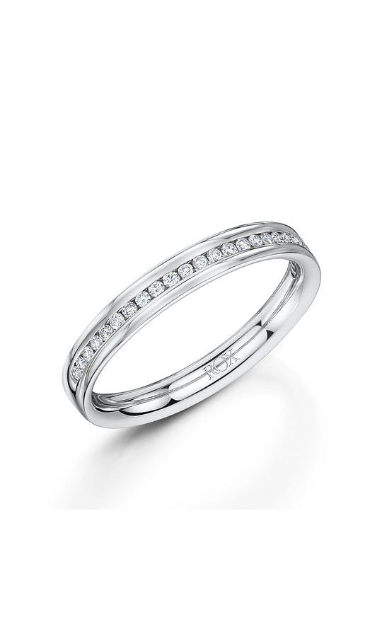 ROX Eternity Rings White Gold Brilliant Diamond Eternity Ring 0.15cts