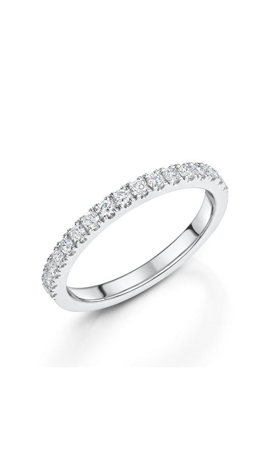 ROX Eternity Rings White Gold Brilliant Diamond Eternity Ring 0.36ct