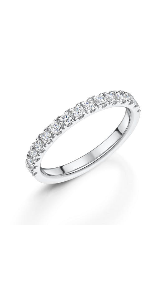 ROX Eternity Rings White Gold Brilliant Diamond Eternity Ring 0.50ct