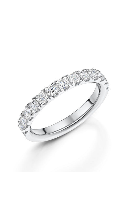 ROX Eternity Rings White Gold Brilliant Diamond Eternity Ring 0.75ct