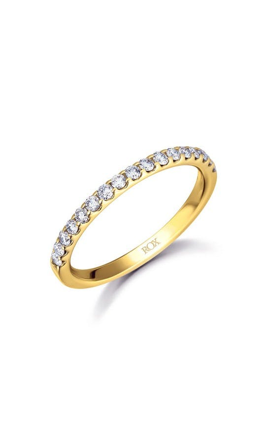 ROX Eternity Rings Yellow Gold Brilliant Diamond Eternity Ring 0.33ct