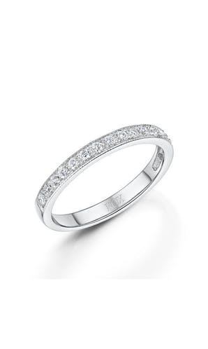 ROX Eternity Rings White Gold Brilliant Diamond Eternity Ring 0.25ct
