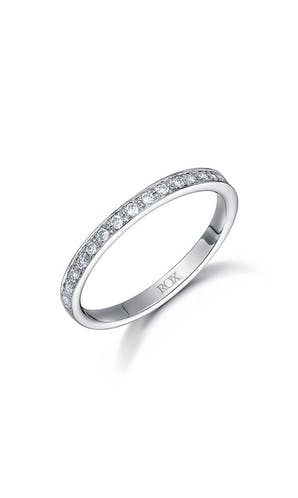 ROX Eternity Rings Platinum Brilliant Diamond Eternity Ring 0.25ct