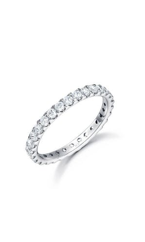 ROX Eternity Rings Platinum Brilliant Diamond Full Hoop Eternity Ring 1.00ct