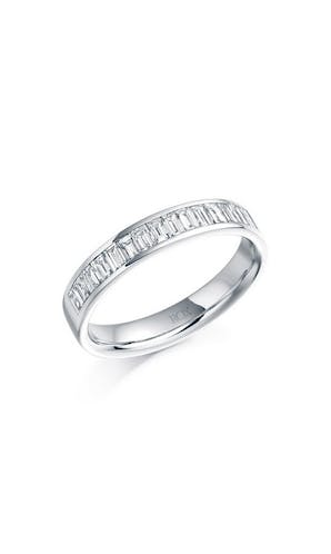 ROX Eternity Rings Platinum Baguette Diamond Eternity Ring 0.76ct