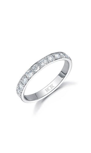 ROX Eternity Rings Platinum Brilliant Diamond Eternity Ring 0.65ct