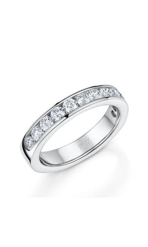 ROX Eternity Rings Platinum Brilliant 12 Diamond Eternity Ring 1.00ct