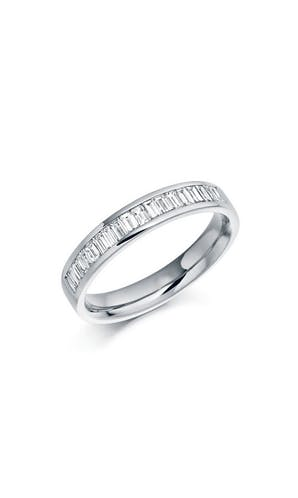 ROX Eternity Rings Platinum Baguette Diamond Eternity Ring 0.56ct