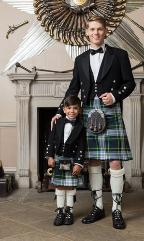 Slaters Boys Kilt Hire Gordon