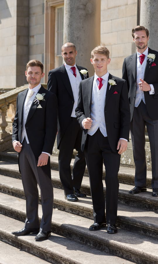 Slaters Men's Wedding & Morning Suit Hire Prince Edward Suit
