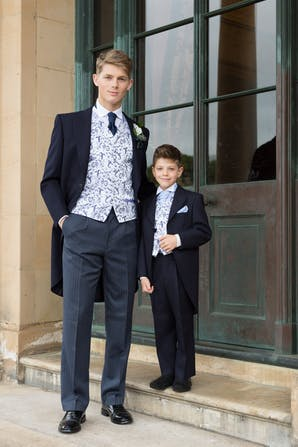 Slaters Boys Formal Hire Morning Suit