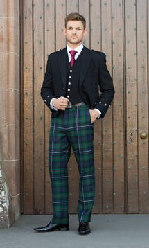 Slaters Men's Kilt Hire Argyll Jacket #6