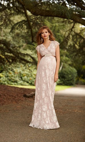 Tiffany Rose 2016 Eden Gown Long: Blush
