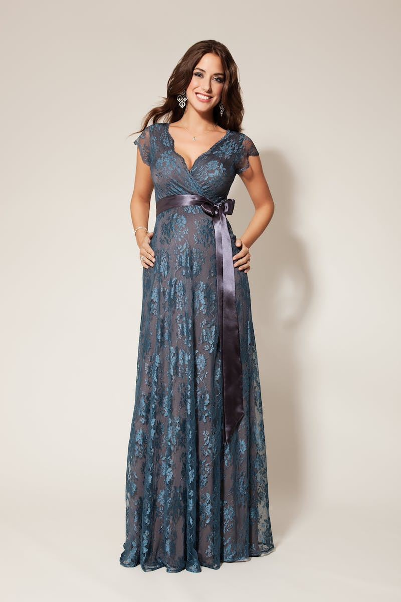 Eden Gown Long Maternity Bridesmaid Dress Tiffany Rose