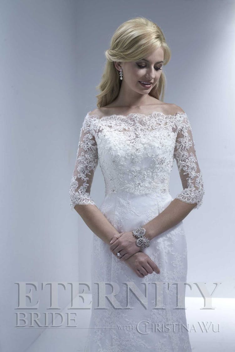Eternity Bride with Christina Wu - Bridal Jackets, Shrugs and Wraps