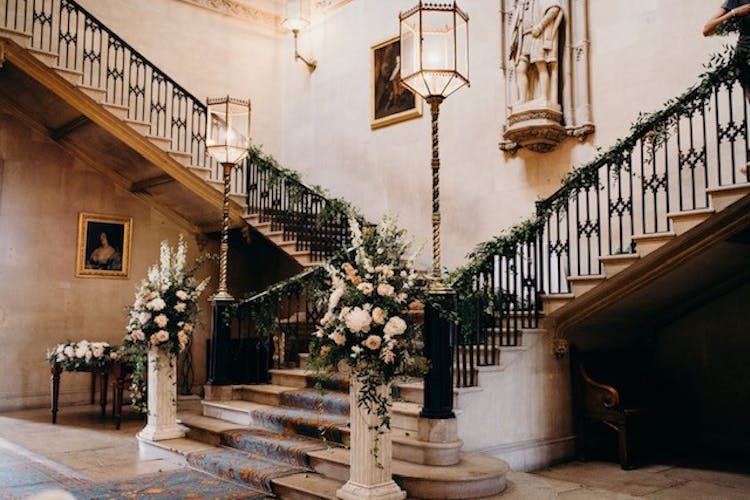 The Grand Hall Stairacase